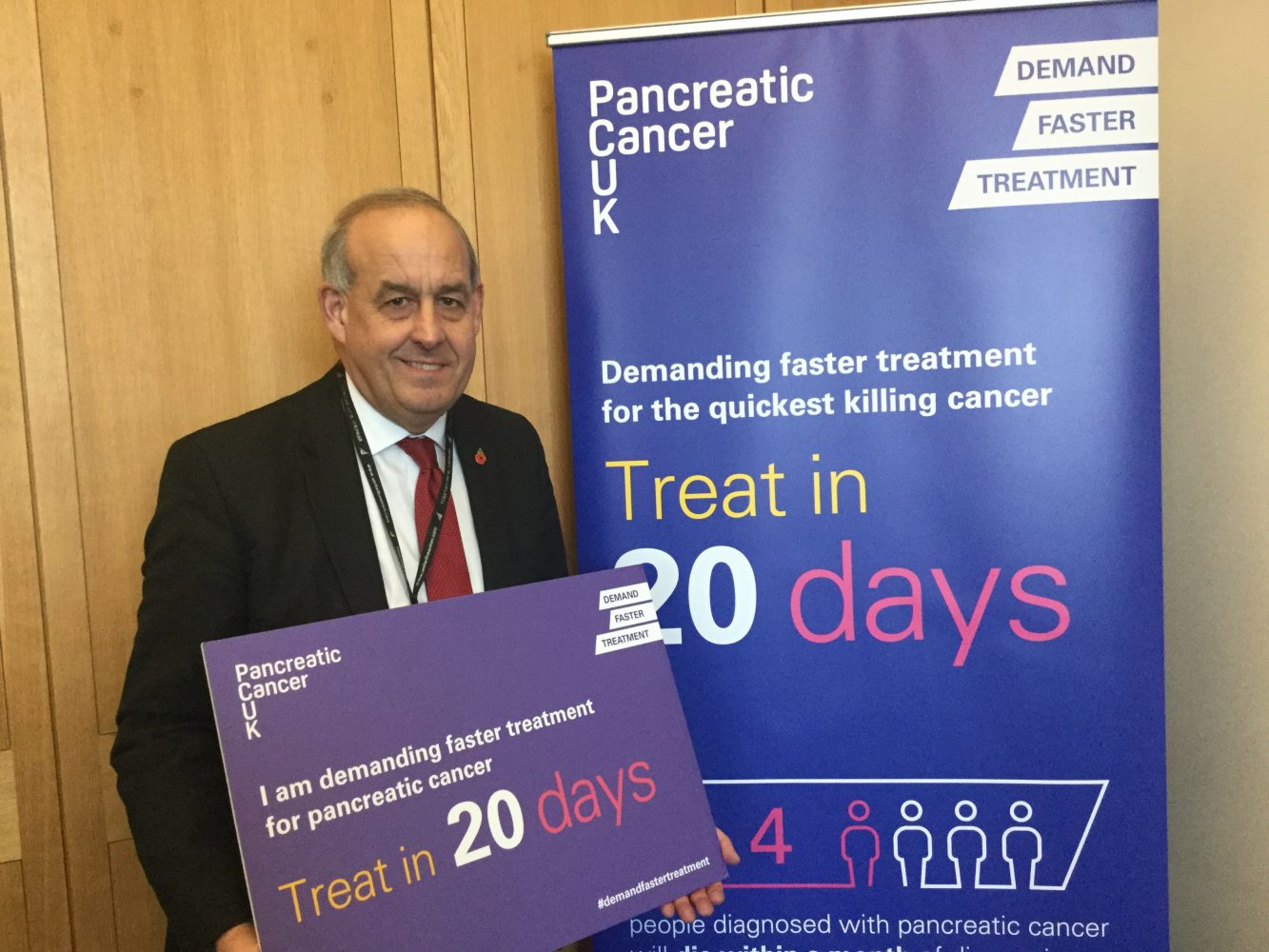 Pancreatic Cancer UK - supporting the 20 day treatment goal - David